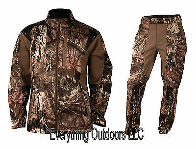 ScentBlocker Men's Knock Out Jacket & Pant Set Size XL Trinity Mossy Oak Country
