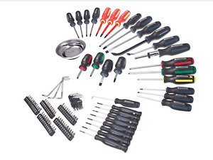 100-piece Screwdriver Set + Bonus Hammer