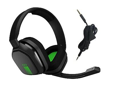 Logitech Astro A10 Wired Gaming Headset Mic 939-001510 Green Black For XBOX One