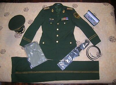 Obsolete 07's series China Armed Police Force Man Officer Uniform,Set