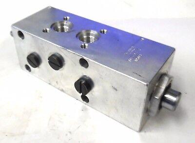 Brannon Hydraulics 700033 Valve Body 4 Way