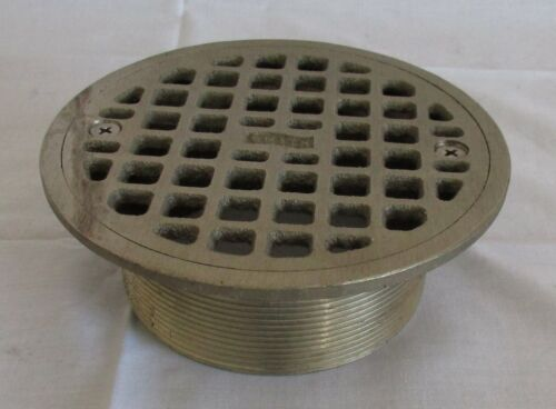 SMITH Industrial Floor Drain Strainer Round Stainless Steel Marked 4325 AC