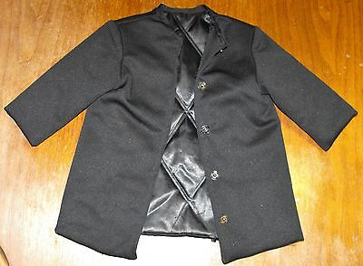 AMISH BOY'S BLACK  COAT HANDMADE 20 W 20 CHEST on Rummage