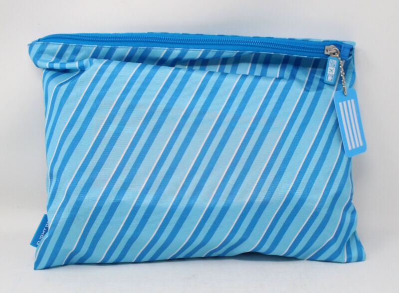 Flight 001 Cosmetic 4 Piece Travel Bag Set Blue