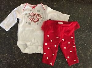Carters Newborn Christmas outfit