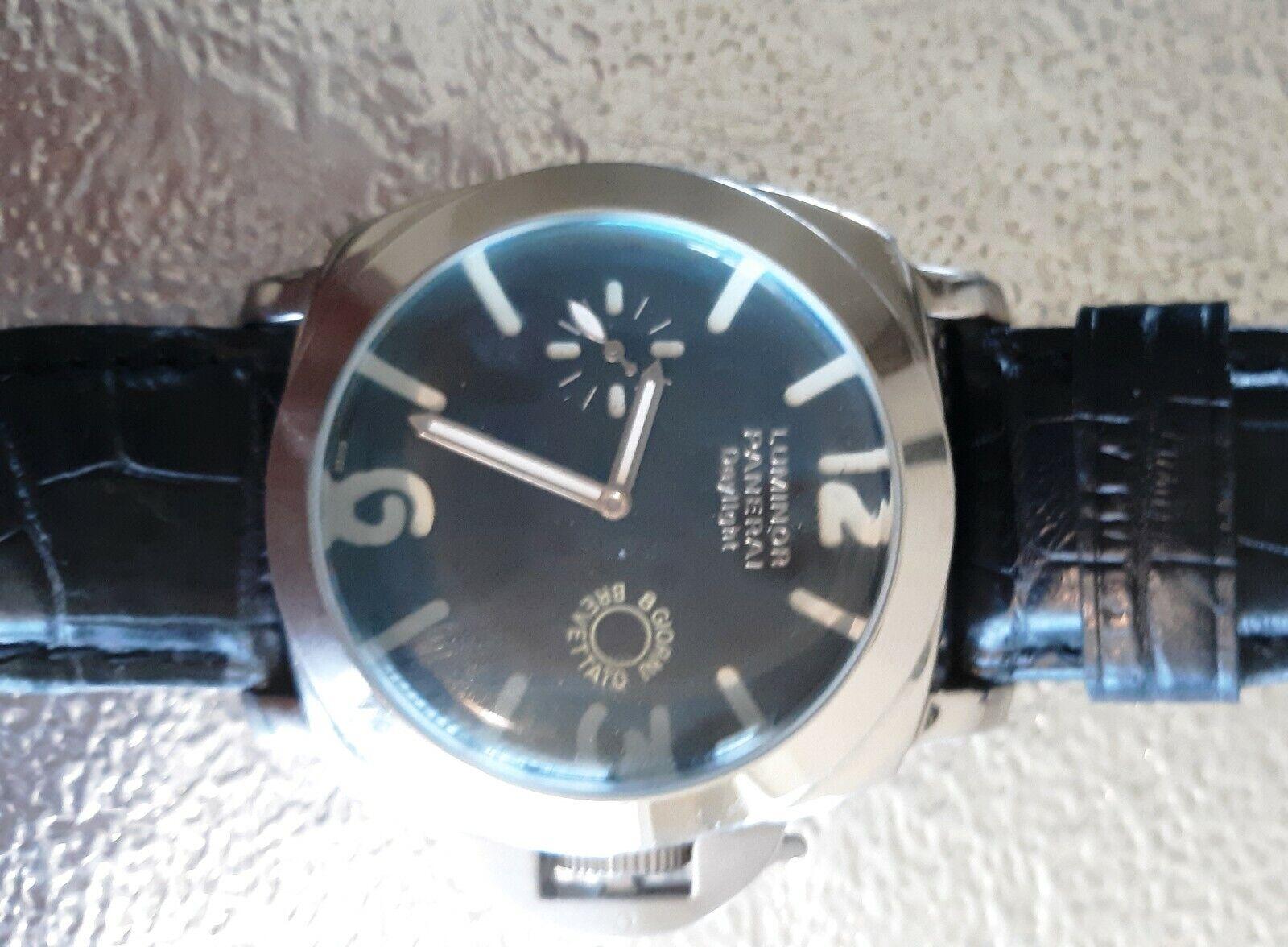 """PANERAI LUMINOR DAYLIGHT STAINLESS STEEL AUTOMATIC MEN WATCH"" - watch picture 1"