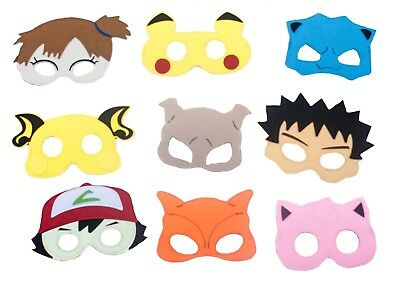 Pokemon Characters Kids Mask Children Party Favor Dress Up Lot option Gift bag](Pokemon Gift Bags)
