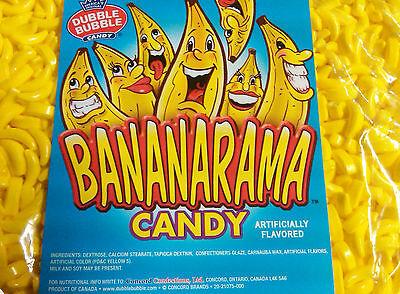 Dubble Bubble Bananarama Banana Flavored Candy 2 lbs Bulk*](Banana Candy)