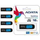 Pack of 4 ADATA USB 3.0 16GB Flash Drive Thumb Memory Stick UV128 Wholesale Lot