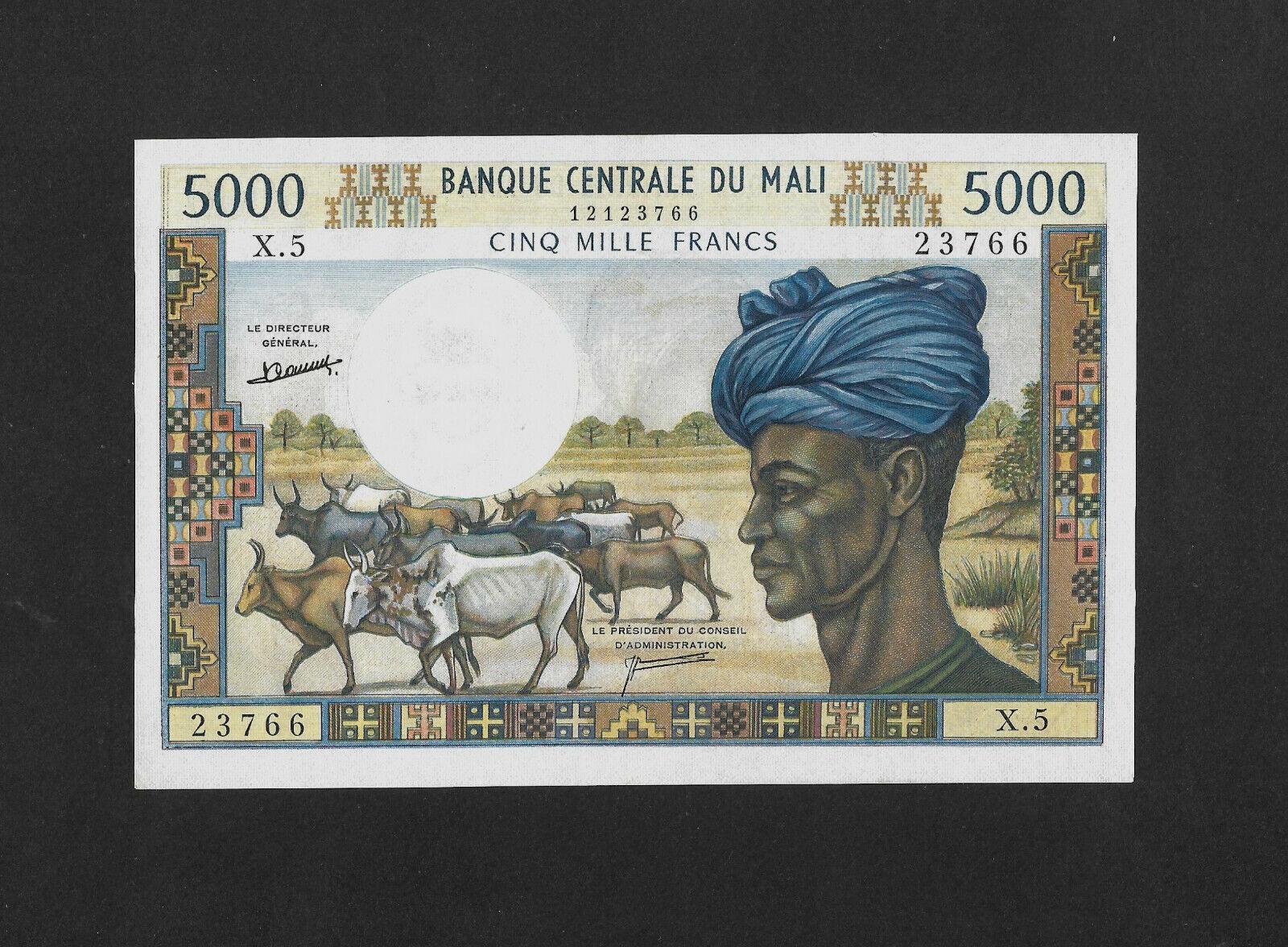 RECTO 5000 francs Type 1973 - None