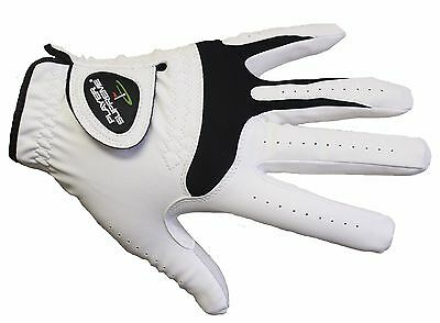 Men's All Weather Cabretta Leather Golf Gloves (Right Handed Golfers) - 5 Sizes All Weather Leather Golf Gloves