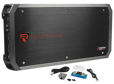 Rockville RXD-M4 6000 Watt/3000w RMS Mono Class D 1 Ohm Amplifier Car Stereo Amp