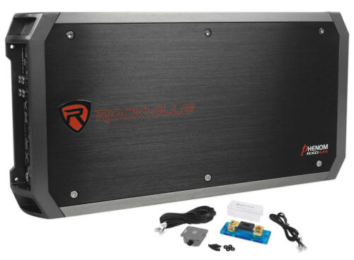 Rockville RXD M4 6000 Watt/3000w RMS Mono Class D 1 Ohm Amplifier Car Stereo Amp