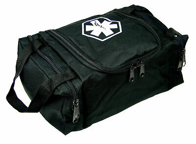 Dixie Ems First Aid Medical Bag Emergency First Responder Trauma Jump Bag Black