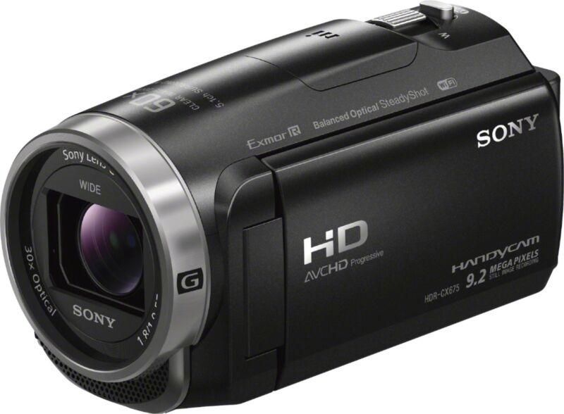 Sony Handycam CX675 32GB Flash Memory Camcorder Black HDRCX675/B