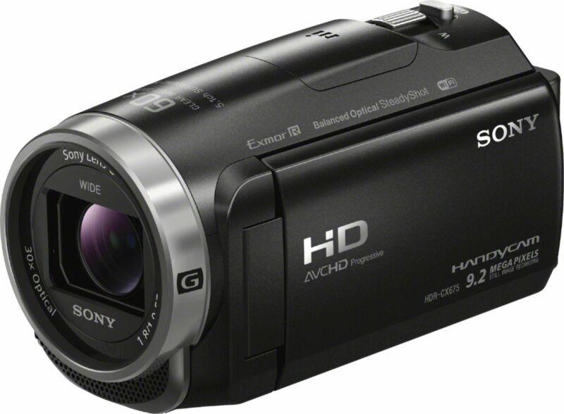 Open-Box Excellent: Sony - Handycam CX675 32GB Flash Memory Camcorder - Black