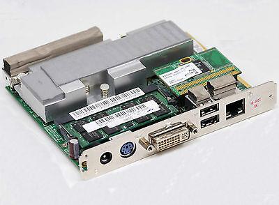 Motherboard-chip (MINI MOTHERBOARD CHIP PC INKL. INTEL ATOM N270 1.6GHZ, SSD 4GB, 1GB DDR2, DVI)