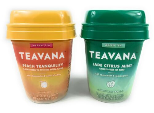Starbucks Medicine Ball Teavana Jade Citrus Mint and Peach T
