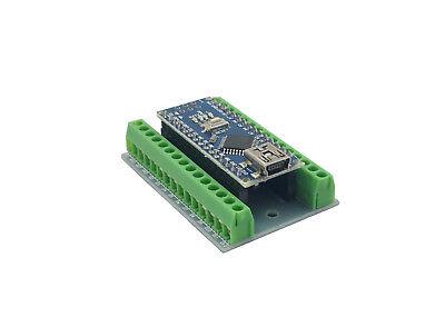 Assembled Arduino Nano Mini Board W Screw Terminal Breakout Expansion Shield