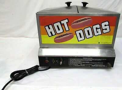 Gold Medal 8007 Steamin Demon Hot Dog Bun Steamer Food Vendor Cooker Warmer