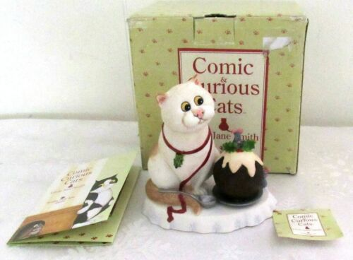 Comic Curious Cats - Christmas Feast - 2006 Linda Jane Smith - NIB
