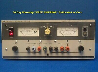 Kepco Mps 620m Variable Linear Power Supply 3 Output 0- 6v 0- - 20v