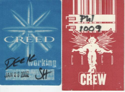 Creed 2-Crew Backstage Passes