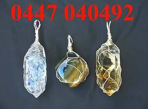 Crystal Wire Wrapping $35 including postage Carramar Wanneroo Area Preview