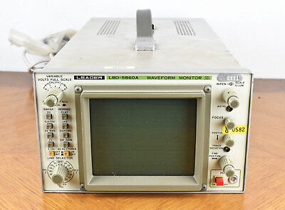 Leader Waveform Monitor 525 Line Model Lbo 5860a