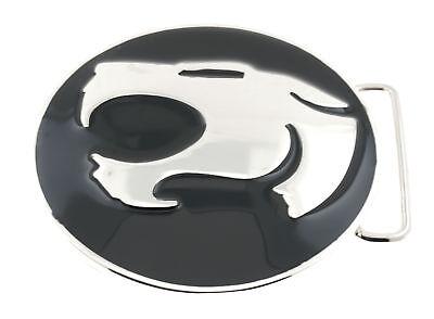 Thundercats Black/Silver Metal Belt Buckle