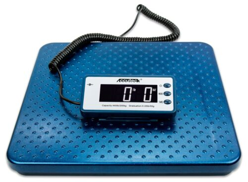 Accuteck 440lb Heavy Duty Digital Metal Industry Shipping Postal Scale