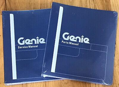 Genie Boom Lift S-60 S-65 Xc Service Repair Parts Manual 1288652gt 1263377gt