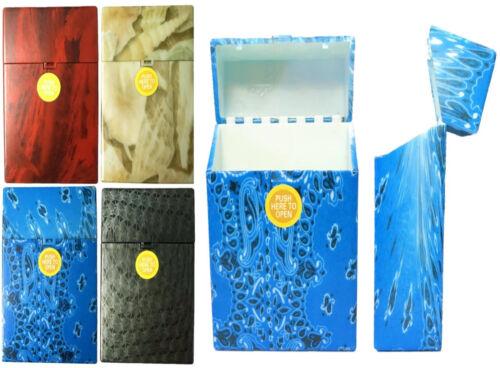 Eclipse Hard Plastic Crushproof Cigarette Case, 4ct, 100s, Asstd Styles, 3117M2