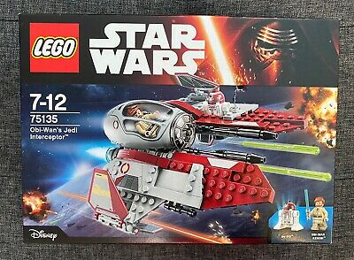 LEGO Star Wars Obi-Wan's Jedi  (75135) Damaged Box