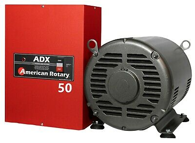 Limited Edition Extreme Duty American Rotary Phase Converter Adx50 50hp 1 To 3ph