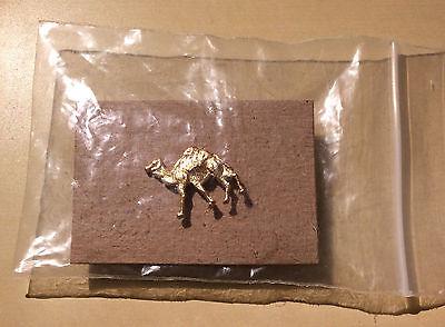 Golden Camel Pin