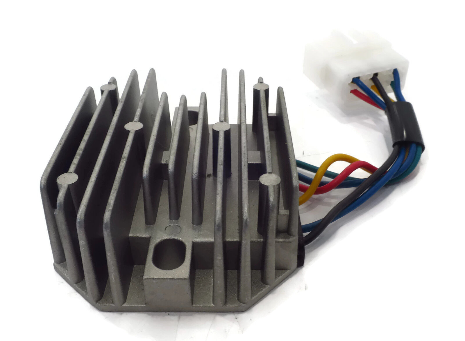 New Voltage Regulator    Rectifier For Kubota  U0026 Grasshopper Rs5101 Rs5155 6 Wire