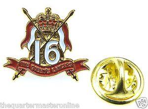 16th/5th Lancers Lapel Pin Badge