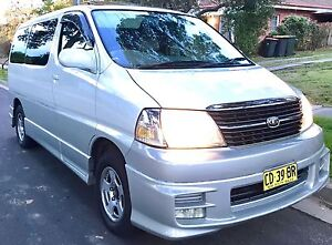 Diesel Toyota Hiace Granvia Camper 8 Seater Van with Rego/ RWC/Low Km Chadstone Monash Area Preview