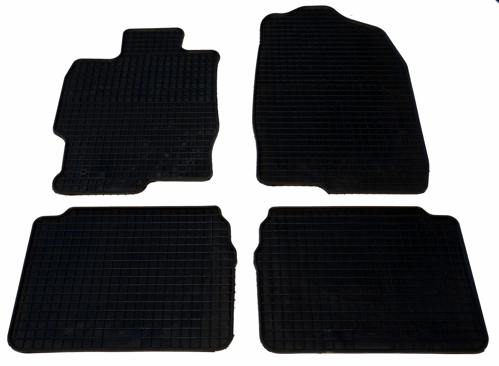 Gummi Fußmatten passend für Mazda 6 Limousine Kombi ab Bj. 2002 bis 2007