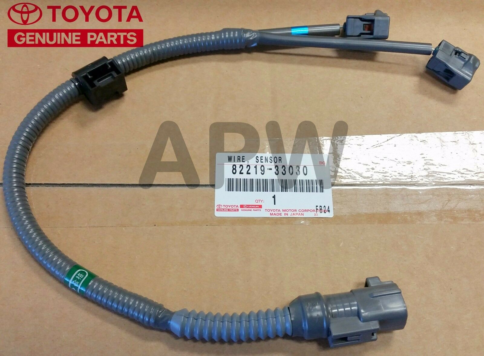 New Genuine Lexus Toyota Knock Sensor Wire Harness 30l Oem 82219 Wiring Parts 33030 2 Of 3