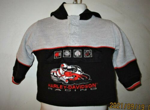 Harley Davidson  Hoodie Baby Sweatshirt  12 Months