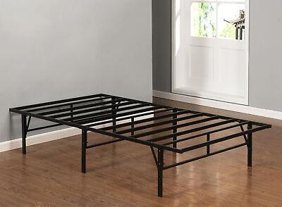 Kings Brand Furniture Twin Size Platform Bed Frame Mattress Foundation Furniture Twin Bed