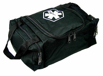 Dixie Ems First Responder Emt Jump Trauma Bag - Tactical Black 10.5x 5 X 8