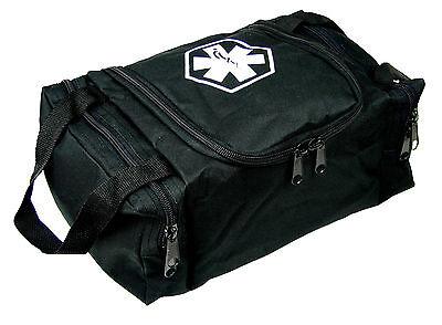 Dixie Ems First Responder Emt Jump Trauma Bag   Tactical Black 10 5 X 5  X 8