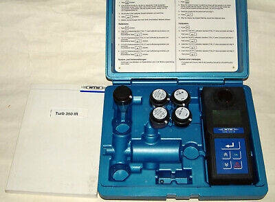 Turb 350 Ir Wtw Turbidity Meter Fluidgaswater Measuring Instrument Ntu