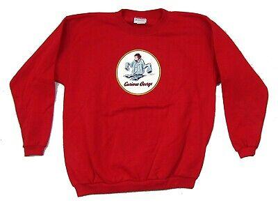 Kids Red Pajamas (Curious George Pajamas Kids Child Red Sweatshirt Youth XL New Official)