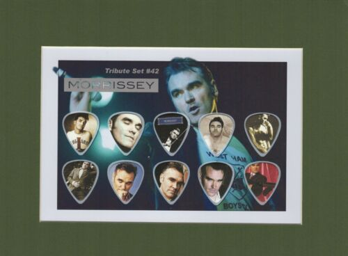 Morrissey Matted Picture Guitar Pick Set Everyday Is Like Sunday The Smiths