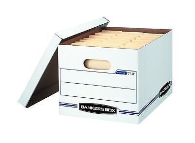 Bankers Box Storfile Storage Boxes Standard Set-up Lift-off Lid