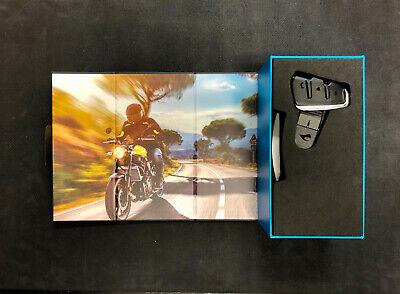 Cardo Packtalk Slim Bluetooth DMC Motorcycle Intercom JBL Speakers  PTS00001